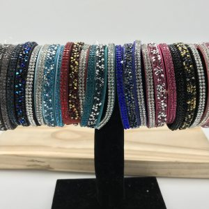 Sparkle wrap bracelets