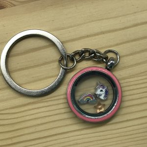Memory Locket Keyrings