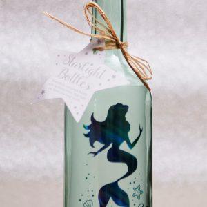 Blue Mermaid Starlight Bottle