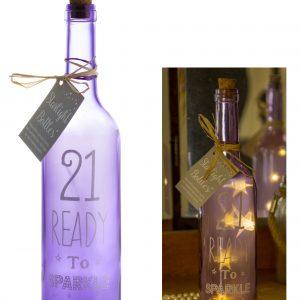 21st Birthday Starlight Bottle