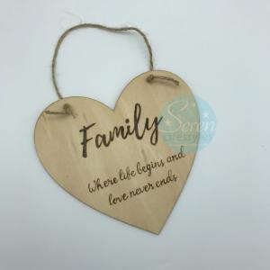 Family Sentiment Heart