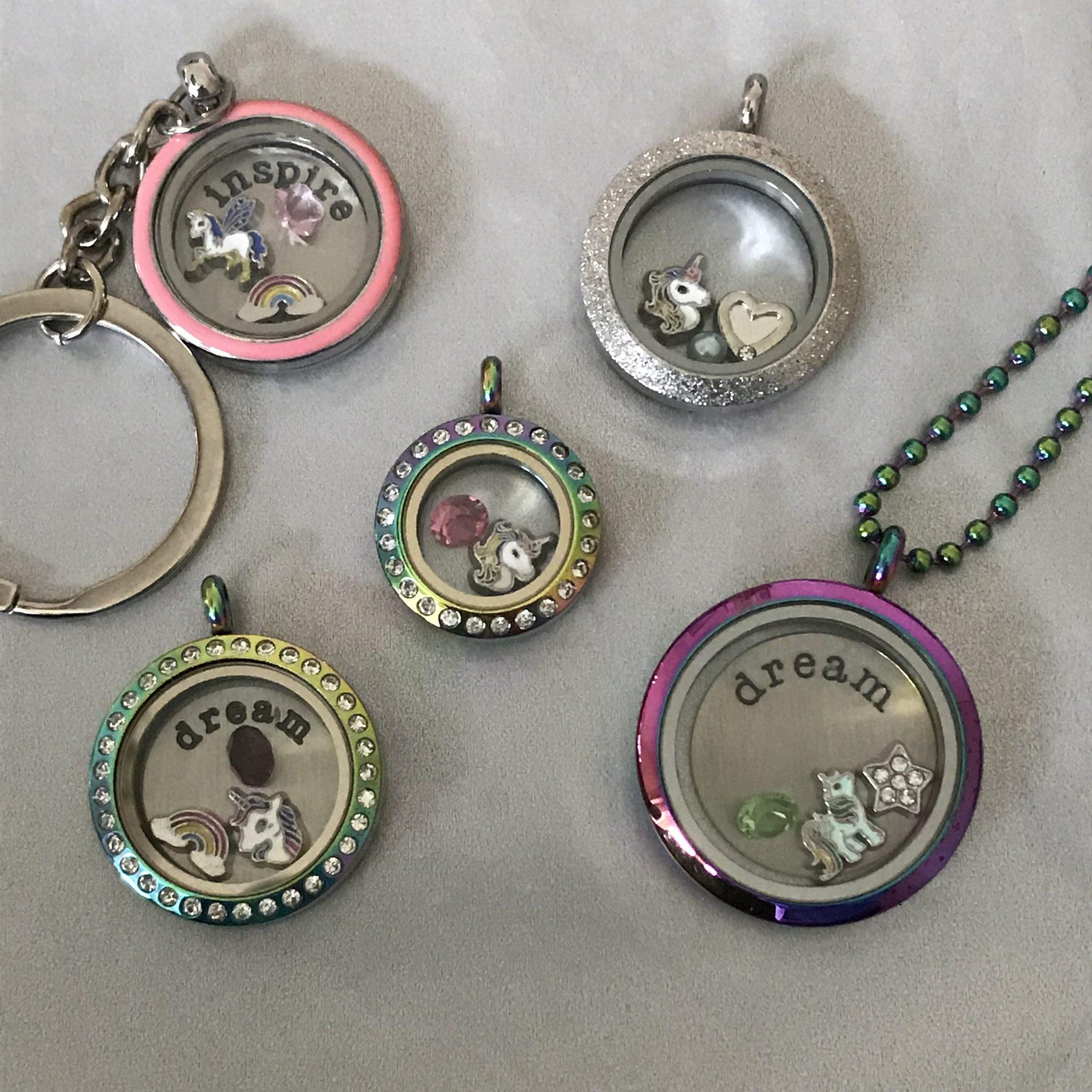 National Unicorn Day Unicorn Locket Collection