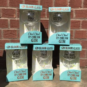 Gin Bloom Glasses