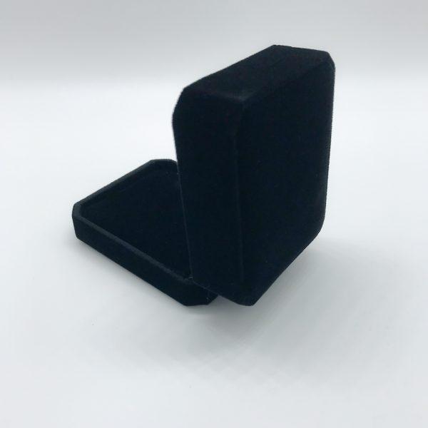 Black Velvet Gift Box open