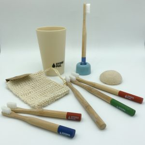 Bamboo Toothbrushes and Toiletries