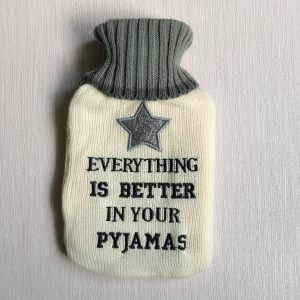 Pyjamas Hot Water Bottle