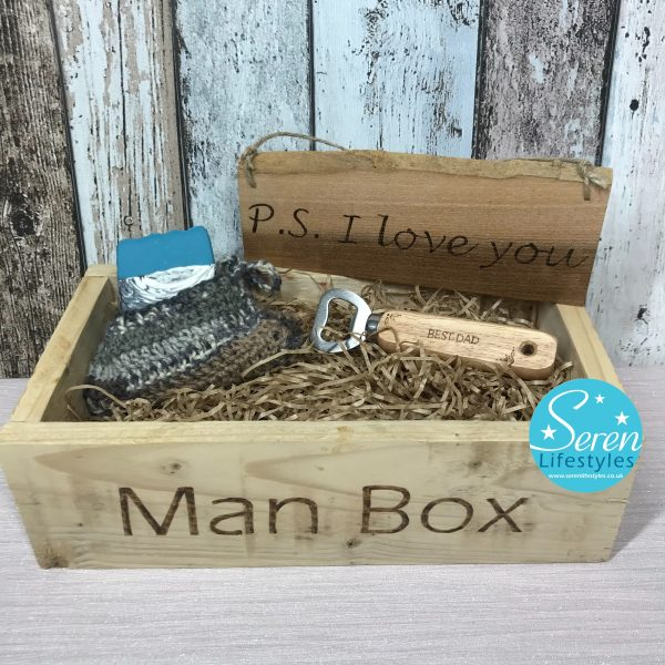 Deluxe Man Box Gift Set