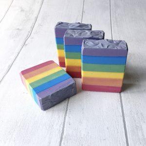 Over the Rainbow Artisan Soap