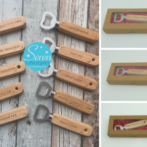 Wood Handle Bottle Openers