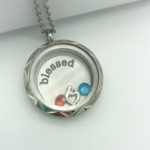 Blessed Mum Memory Locket