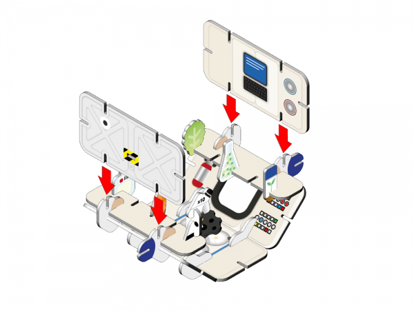 Space Station Eco Playset 3