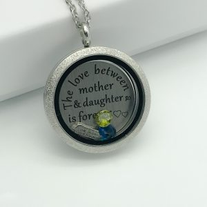 Mother Daughter Memory Locket