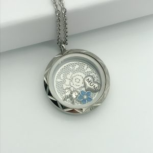 Angel Wings Memory Locket